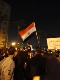 A protest in Tahrir in March 2011.  (Credit: Myself)