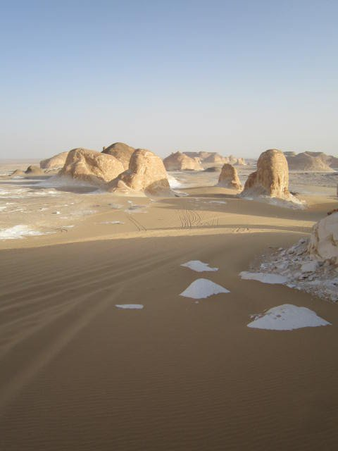 Egypt's White Desert is absolutely stunning.